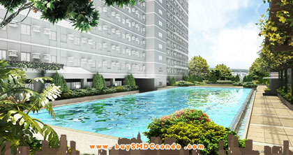 SMDC Green 2 Residences Cavite Condo Pool