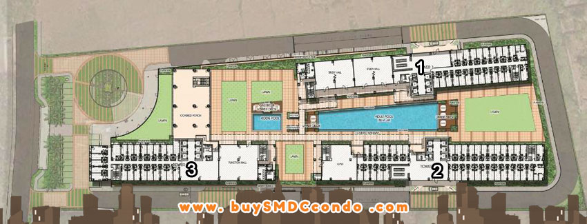 SMDC Green 2 Residences Cavite Condo Site Development Plan