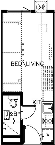 SMDC Green 2 Residences Cavite Condo Studio