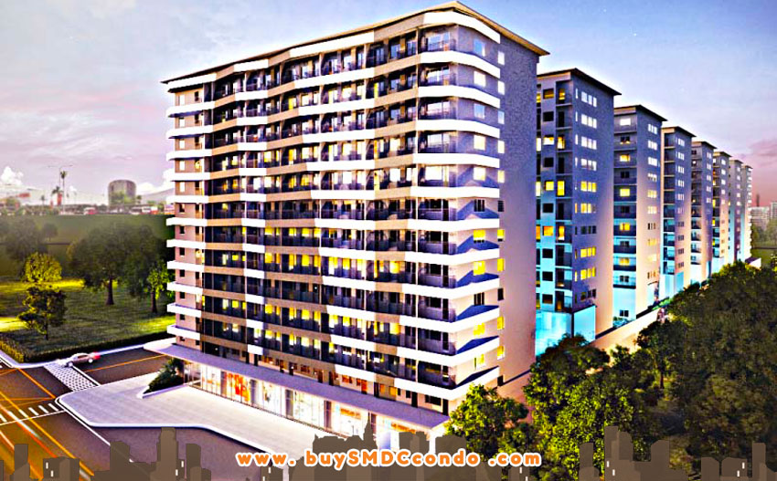 SMDC S Residences SM Mall of Asia Pasay City Condo Building Facade