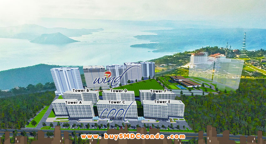 SMDC Cool Suites Tagaytay Condo Site Development Plan