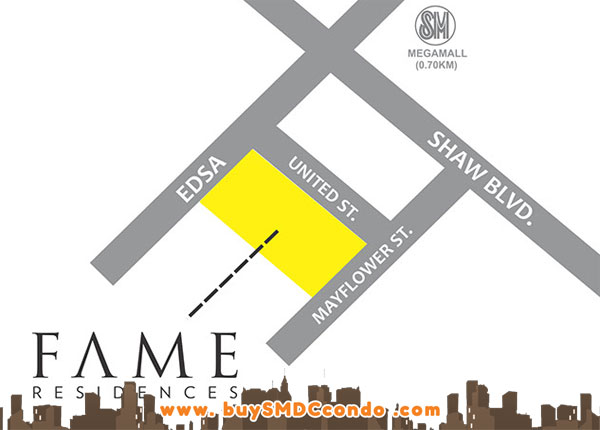 SMDC Fame Residences condo in EDSA Shaw Mandaluyong
