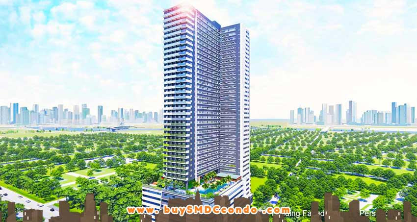 SMDC Gem Residences C5 Road Pasig City Condo Building Facade