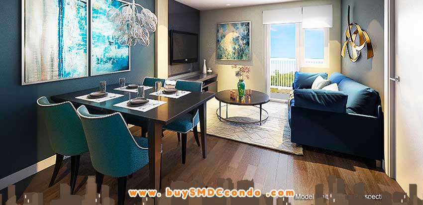 SMDC Gem Residences C5 Road Pasig City Condo Model Unit