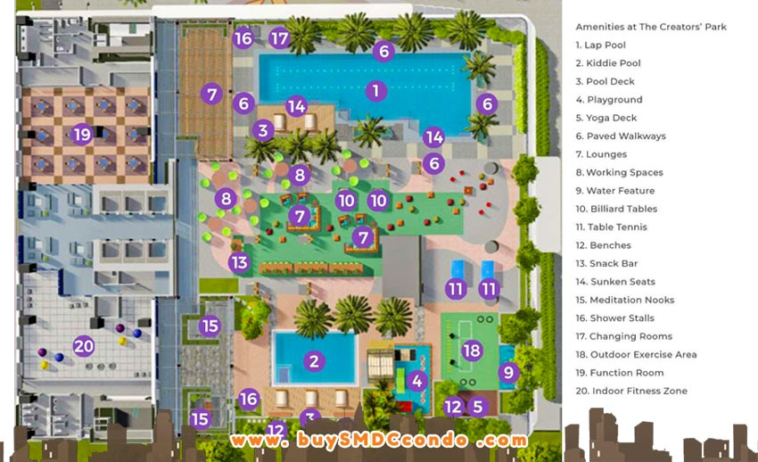SMDC Gem Residences C5 Road Pasig City Condo Site Development Plan