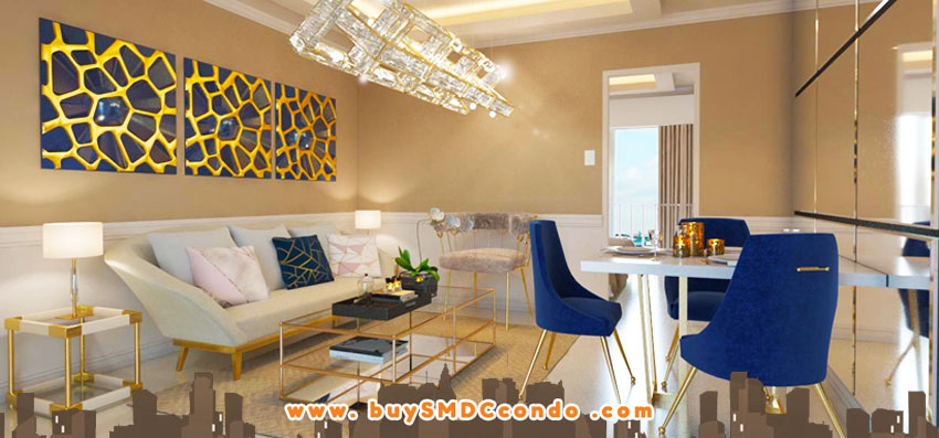 SMDC Glam Residences South Triangle Quezon City Condo Model Unit