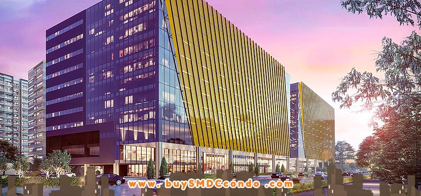 SMDC Gold Offices NAIA Manila Airport Paranaque Office Space Building Facade