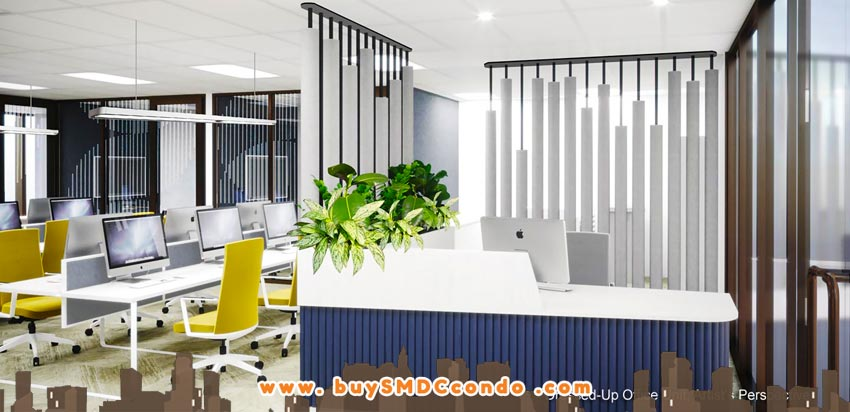 SMDC Gold Offices NAIA Manila Airport Paranaque Office Space Model Unit