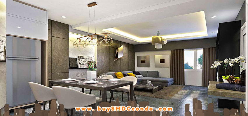 SMDC Gold Residences NAIA Manila Airport Paranaque Condo Model Unit