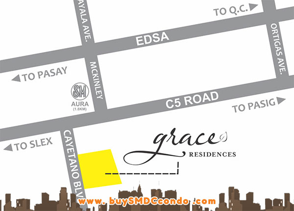 Smdc Grace Residences Condo In Taguig