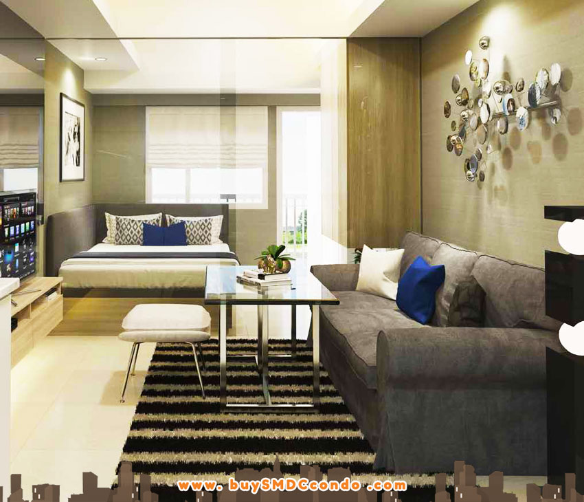 SMDC Grass Fern Residences SM North EDSA Quezon City Condo Model unit