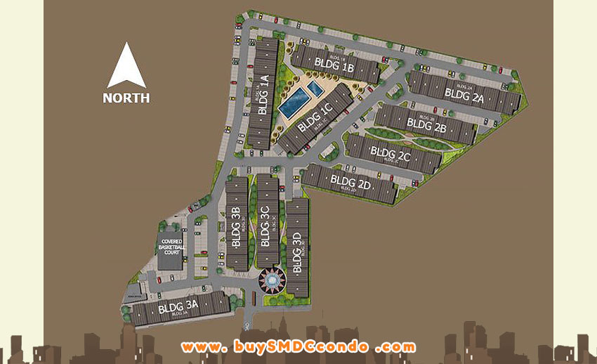 SMDC Hill Residences Novaliches Quezon City Condo Site Development Plan