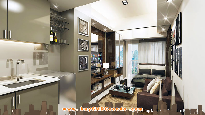 SMDC Jazz Residences Bel-Air Makati Condo Model Unit