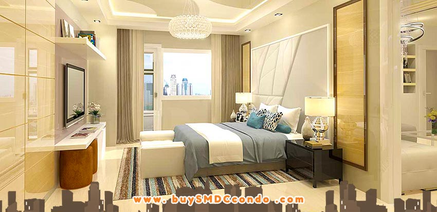 SMDC Light 2 Residences MRT Boni Mandaluyong Condo Model Unit