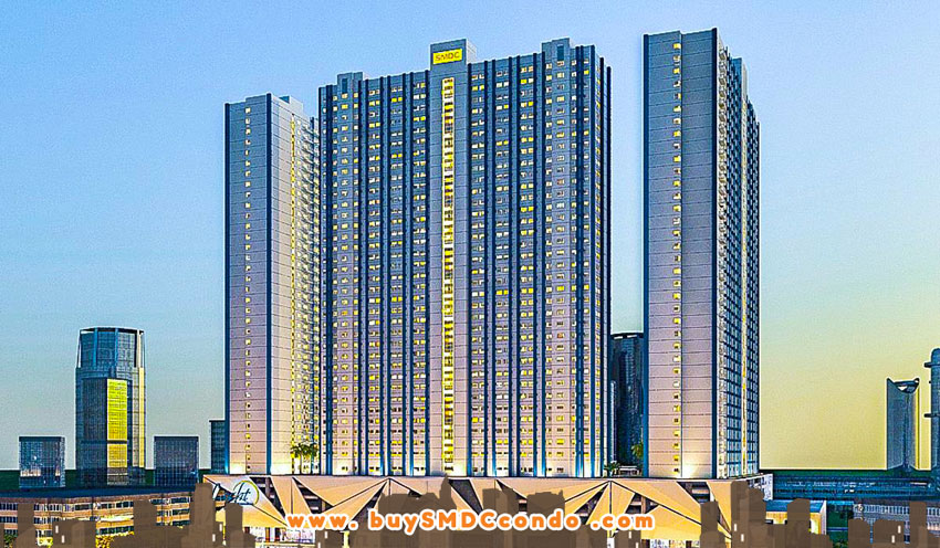 SMDC Light Residences EDSA Boni Mandaluyong City Condo Building Facade