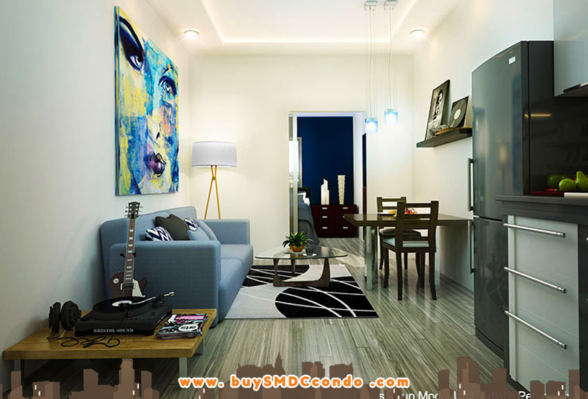 SMDC Light Residences EDSA Boni Mandaluyong City Condo Model Unit