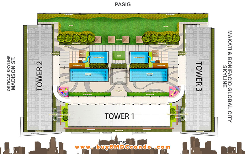 SMDC Light Residences EDSA Boni Mandaluyong City Condo Site Development Plan