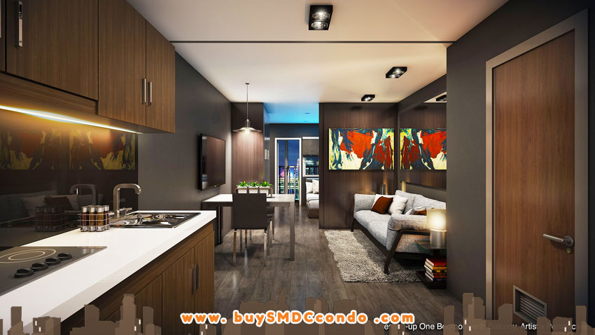 SMDC Sea Residences SM Mall of Asia Pasay City Condo Model Unit