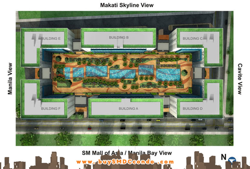 SMDC Sea Residences SM Mall of Asia Pasay City Condo Site Development Plan