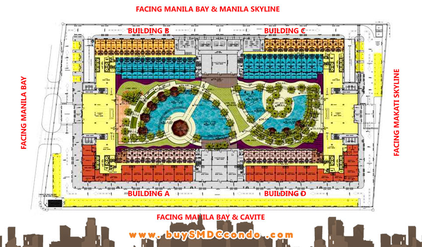 SMDC Shell Residences SM Mall of Asia Pasay City Condo Site Development Plan
