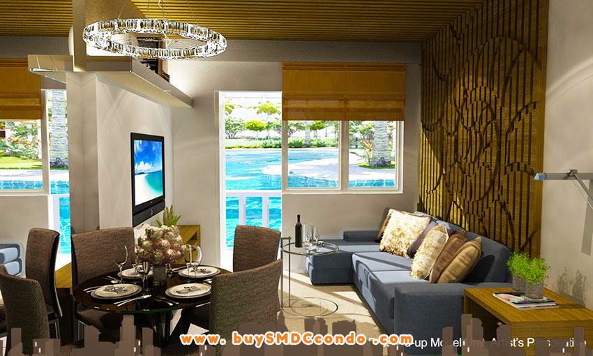 SMDC Shore 1 Residences SM Mall of Asia Pasay City Condo Model Unit