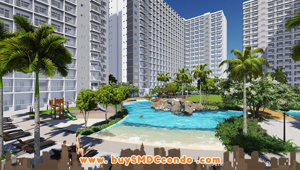 SMDC Shore 1 Residences SM Mall of Asia Pasay City Condo Pool