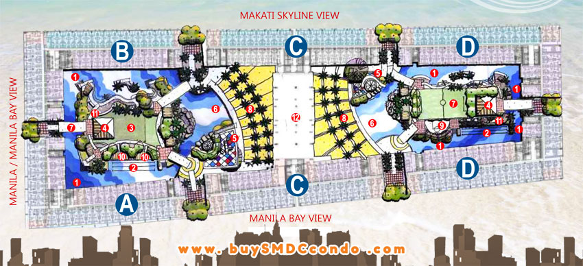 SMDC Shore 1 Residences SM Mall of Asia Pasay City Condo Site Development Plan