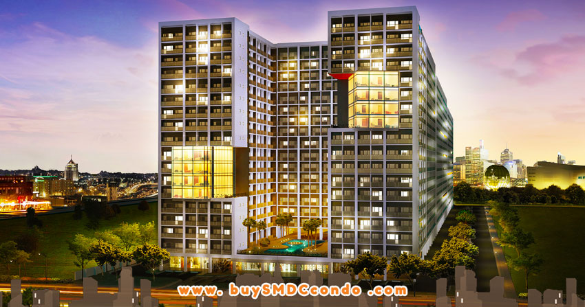 SMDC Shore 2 Residences SM Mall of Asia Pasay City Condo Building Facade