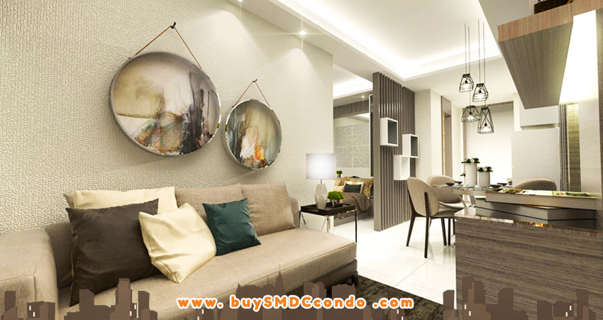 SMDC Shore 3 Residences SM Mall of Asia Pasay City Condo Model Unit