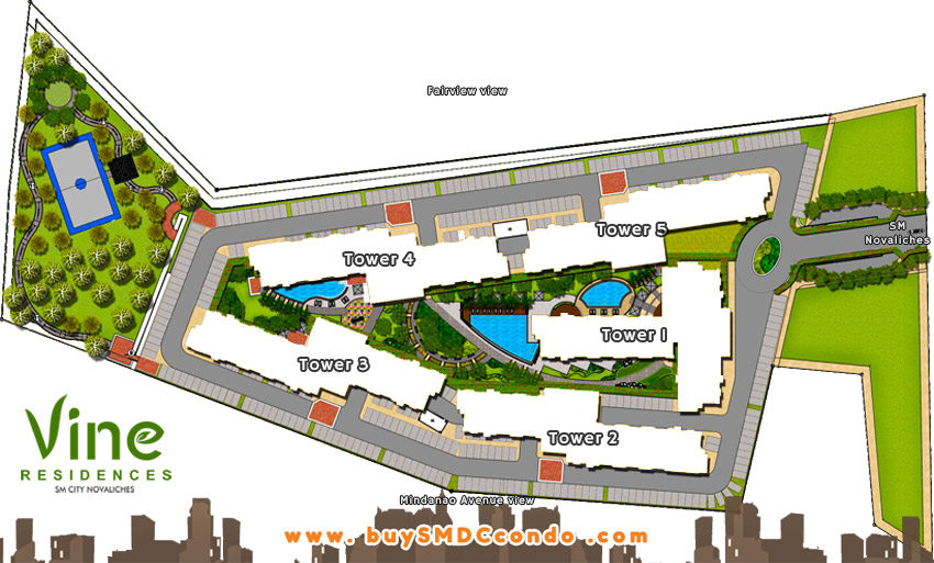 SMDC Vine Residences Novaliches Condo Site Development Plan