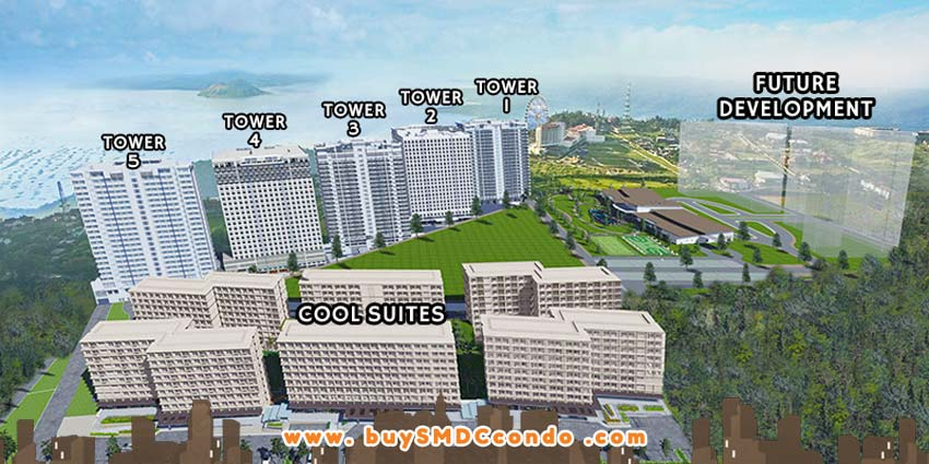 SMDC Wind Residences Tagaytay Condo Site Development Plan